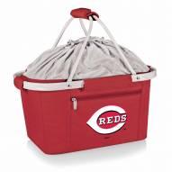 Cincinnati Reds Red Metro Picnic Basket