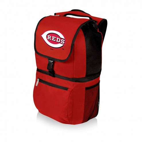 Cincinnati Reds Red Zuma Cooler Backpack