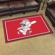 Cincinnati Reds 4' x 6' Area Rug