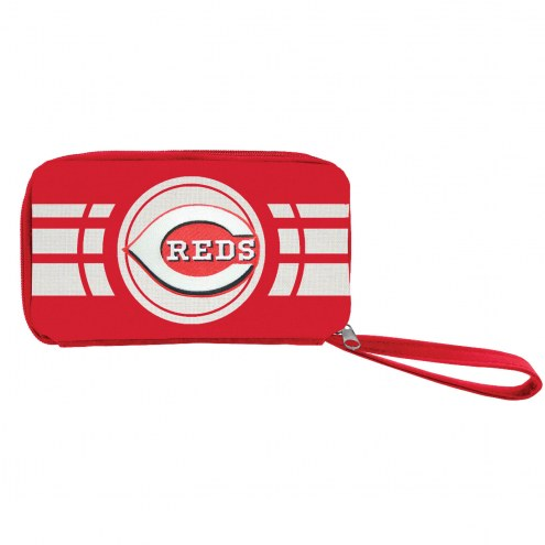 Cincinnati Reds Ripple Zip Wallet