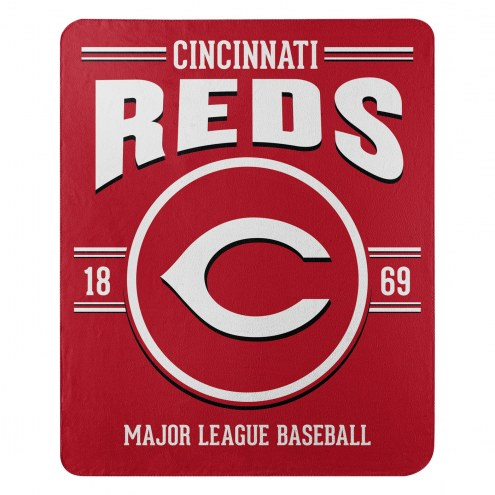 Cincinnati Reds Southpaw Fleece Blanket