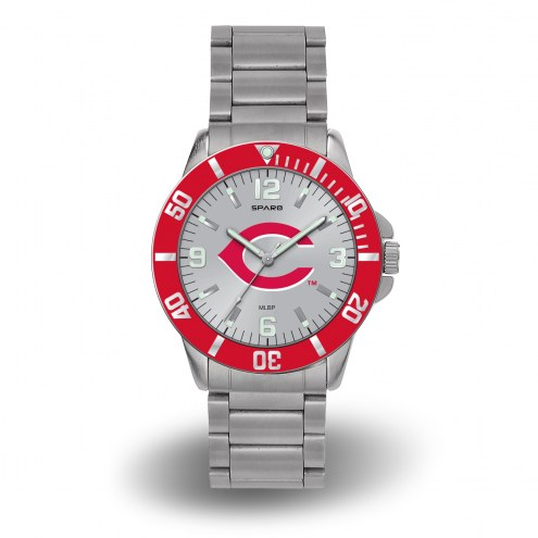 Cincinnati Reds Sparo Men's Key Watch
