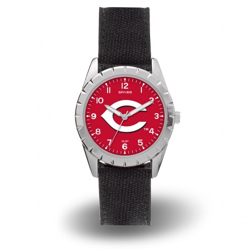 Cincinnati Reds Sparo Men's Nickel Watch