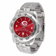Cincinnati Reds Sport Steel AnoChrome Men's Watch