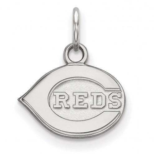 Cincinnati Reds Sterling Silver Extra Small Pendant