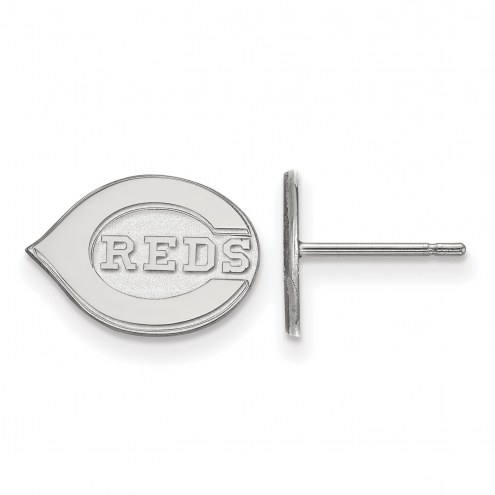 Cincinnati Reds Sterling Silver Extra Small Post Earrings