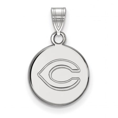 Cincinnati Reds Sterling Silver Small Disc Pendant