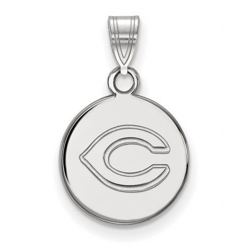 Cincinnati Reds Sterling Silver Small Disc Pendant