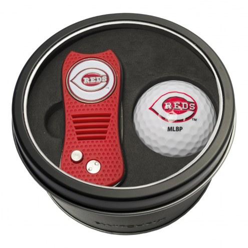 Cincinnati Reds Switchfix Golf Divot Tool & Ball