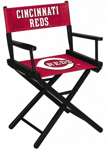 Cincinnati Reds Table Height Director's Chair