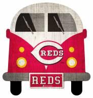 Cincinnati Reds Team Bus Sign