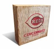 Cincinnati Reds Team Logo Block