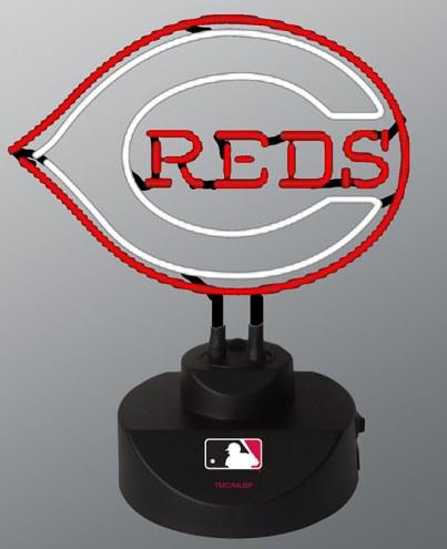 Cincinnati Reds Team Logo Neon Lamp