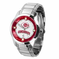 Cincinnati Reds Titan Steel Men's Watch