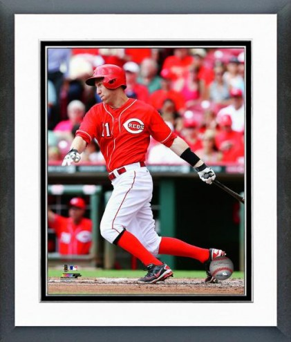 Cincinnati Reds Todd Frazier Action Framed Photo