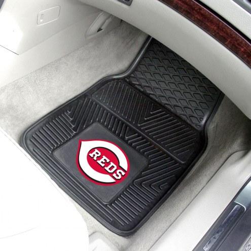 Cincinnati Reds Vinyl 2-Piece Car Floor Mats
