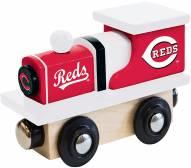 Cincinnati Reds Wood Toy Train