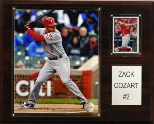 "Cincinnati Reds Zack Cozart 12"" x 15"" Player Plaque"