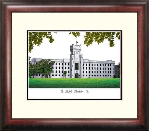 Citadel Bulldogs Alumnus Framed Lithograph