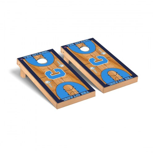 Citadel Bulldogs Basketball Court Cornhole Game Set