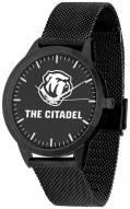 Citadel Bulldogs Black Dial Mesh Statement Watch