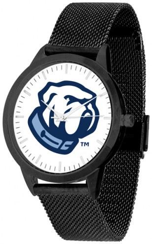 Citadel Bulldogs Black Mesh Statement Watch