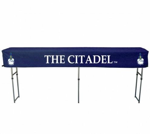 Citadel Bulldogs Buffet Table & Cover