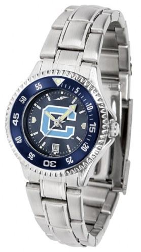 Citadel Bulldogs Competitor Steel AnoChrome Women's Watch - Color Bezel