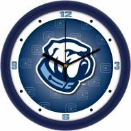 Citadel Bulldogs Dimension Wall Clock