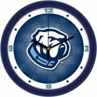 Citadel Bulldogs Dimension Wall Clock