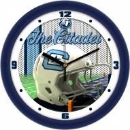 Citadel Bulldogs Football Helmet Wall Clock