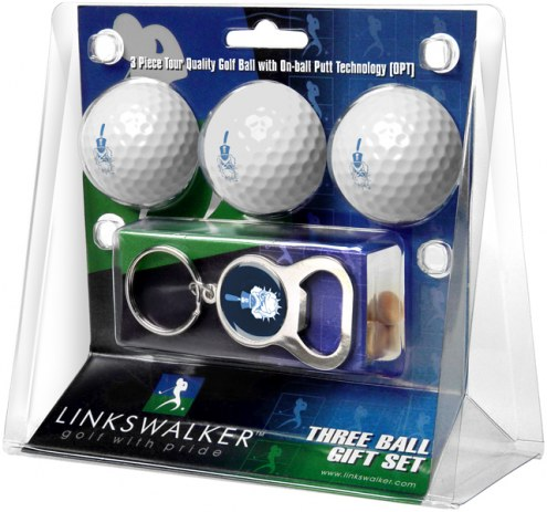 Citadel Bulldogs Golf Ball Gift Pack with Key Chain