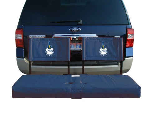 Citadel Bulldogs Tailgate Hitch Seat/Cargo Carrier