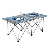 Citadel Bulldogs Pop Up 6' Ping Pong Table