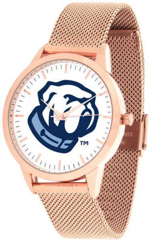 Citadel Bulldogs Rose Mesh Statement Watch