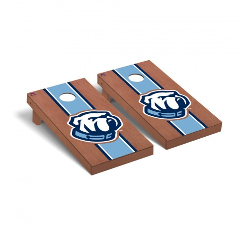 Citadel Bulldogs Rosewood Stained Cornhole Game Set