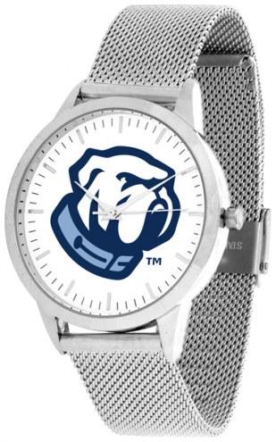 Citadel Bulldogs Silver Mesh Statement Watch