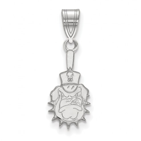 Citadel Bulldogs Sterling Silver Medium Pendant