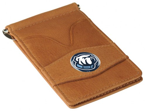 Citadel Bulldogs Tan Player's Wallet