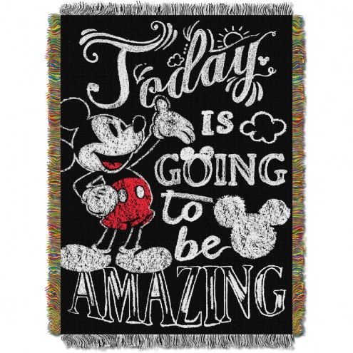 Classic Mickey Amazing Day Throw Blanket