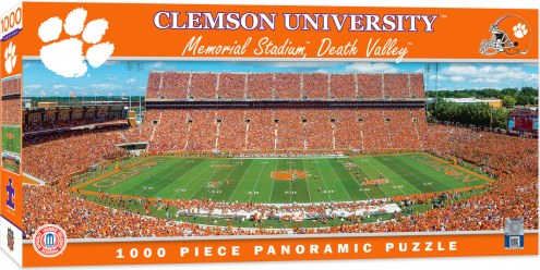 Clemson Tigers 1000 Piece Panoramic Puzzle