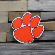 "Clemson Tigers 12"" Steel Logo Sign"
