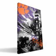 "Clemson Tigers 16"" x 24"" Spirit Canvas Print"