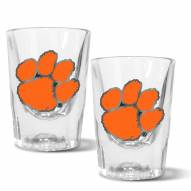 Clemson Tigers 2 oz. Prism Shot Glass Set