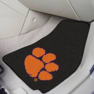 Clemson Tigers 2-Piece Carpet Car Mats