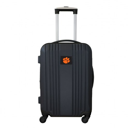 """Clemson Tigers 21"""" Hardcase Luggage Carry-on Spinner"""