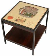 Clemson Tigers 25-Layer StadiumViews Lighted End Table