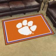 Clemson Tigers 4' x 6' Area Rug