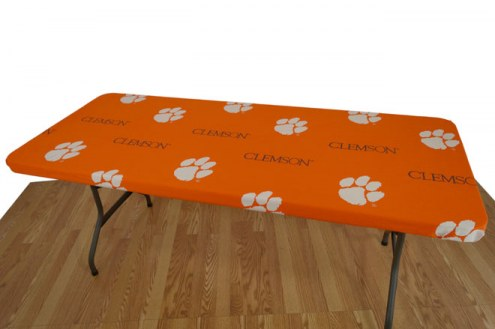 Clemson Tigers 6' Logo Table Cover