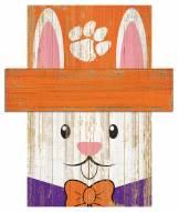 "Clemson Tigers 6"" x 5"" Easter Bunny Head"
